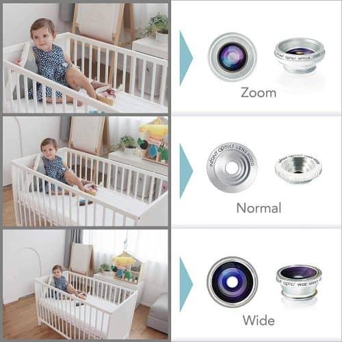 baby monitor camera view
