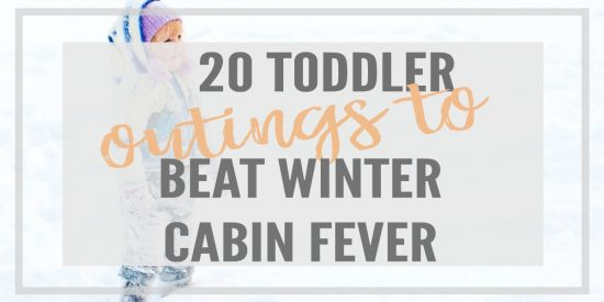 20 Free or Cheap Toddler Outings to Beat Winter Cabin Fever! Ideas to get out of the house with your little ones!