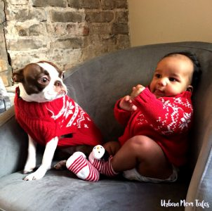 Nahla and Miles for 4 Month Baby Photo