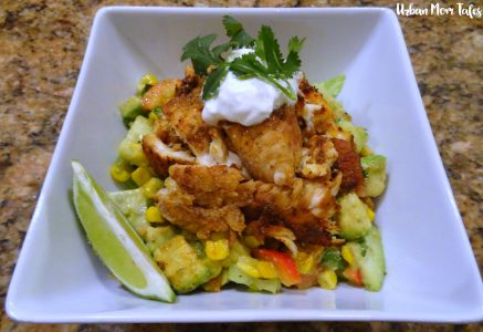 Blackened Tilapia Bowl Recipe Meal Plan