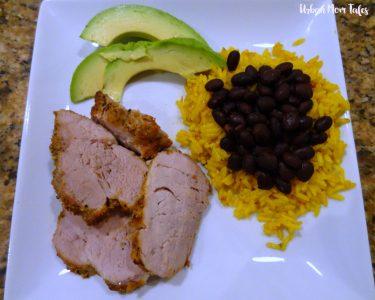Cuban Spice Rubbed Pork Tenderloin Recipe Meal Plan
