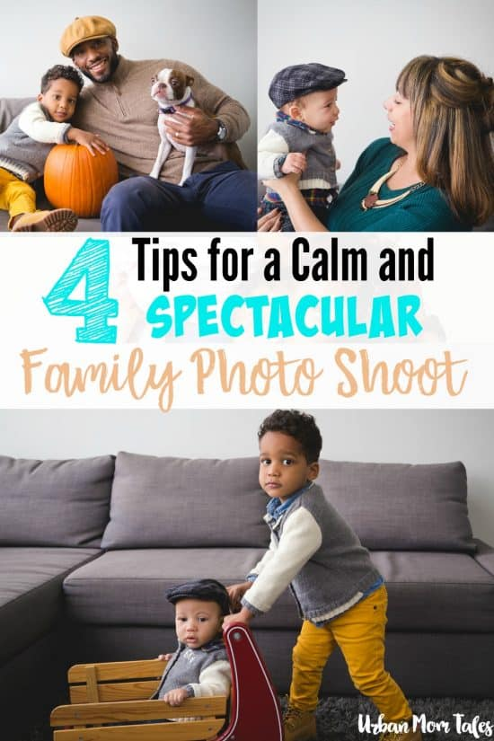 4 tips for a calm and spectacular family photo shoot for Urban family photo ideas