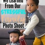 4 Tips We Learned from Our Stressful Family Photo Shoot