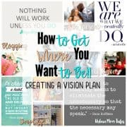 Vision Board, Goals, New Year, Resolutions, Changing Habits