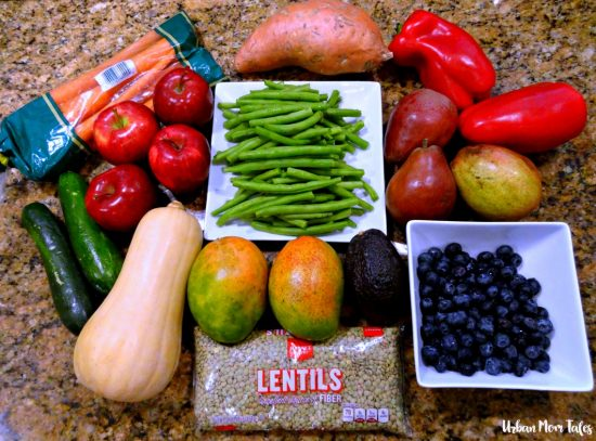 Fresh Fruits and Vegetables for Stage 2 Homemade Baby Food Recipes