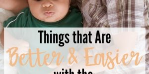 Things that are Easier and Better with the Second Baby, Second baby concerns, toddler ready for second baby, pregnancy