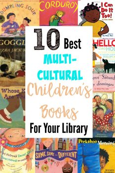 10 best children's books to diversify your library! Expose your babies and toddlers to new worlds through these beautiful characters from this collection of multicultural children's books, perfect for babies and toddlers.