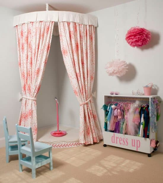Use these amazing ideas to nourish your kids' imaginations! Inspiration for your playroom makeover or kids room design to create magical spaces for kids.