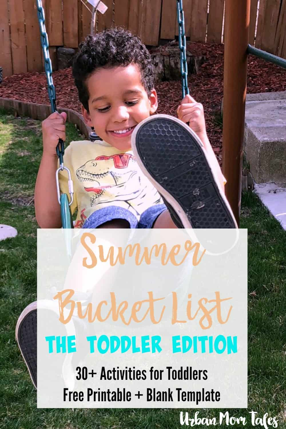 Make Memories with a Summer Bucket List for Toddlers!