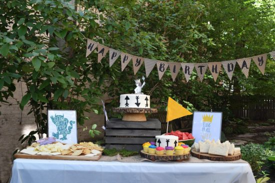 A wild things birthday party is a cute and fun theme to have for a first birthday party, or any after! Ideas to make your party budget friendly AND amazing. Includes a set of 6 wild things party printables to make your own signs and posters easily.