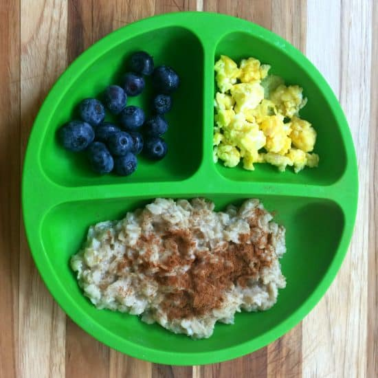 Simple finger food meals for a one year old when you don't have time