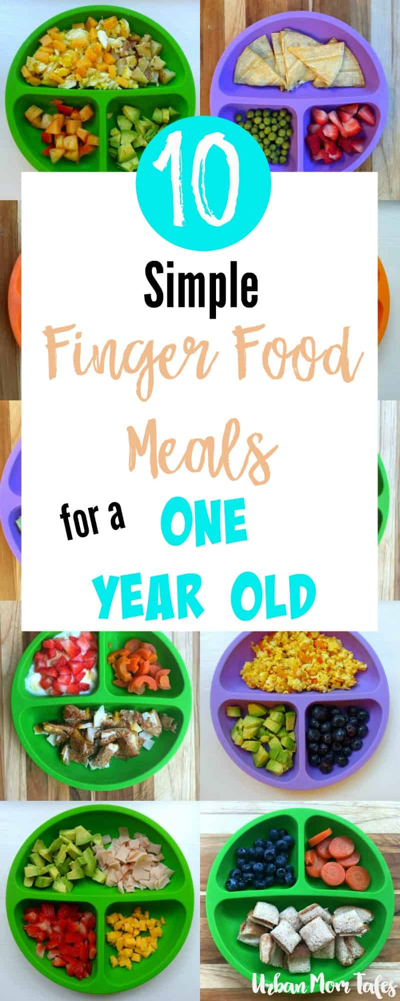 10 simple finger food meals for a one year old · urban mom tales