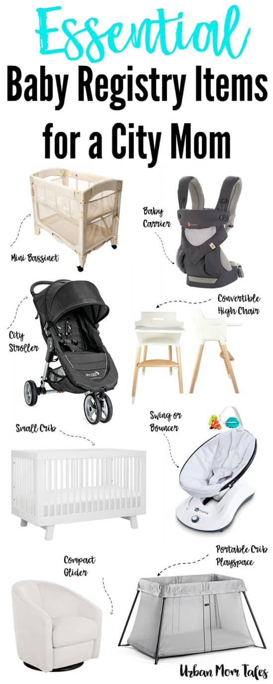 What Are The Baby Items That Every New City Mom Must Have? This Urban Guide