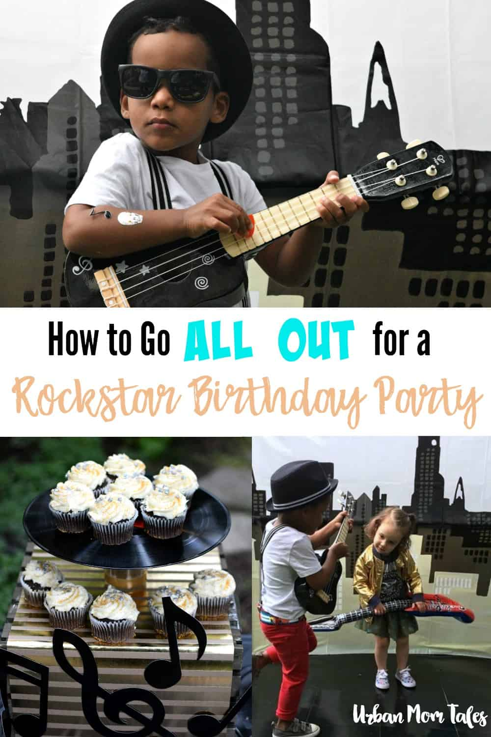 How to Go All Out for a Rockstar Birthday Party