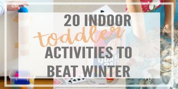 Feeling cabin fever in the winter? Try these proven indoor toddler activities to keep your little ones engaged and having fun!