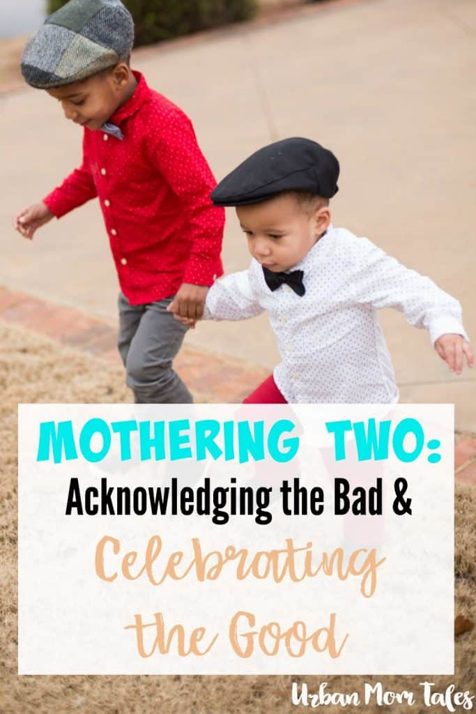 Mothering two kids or becoming a mom of two is tough and exhausting work. Thinking about the best moments siblings have together helps celebrate the joys of motherhood and acknowledge what all this hard work is for.