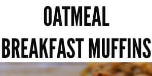 Wholesome oatmeal with delicious toppings makes the perfect breakfast on the go. They can be made ahead, are freezer friendly and most importantly- make an easy recipe for cooking with toddlers.