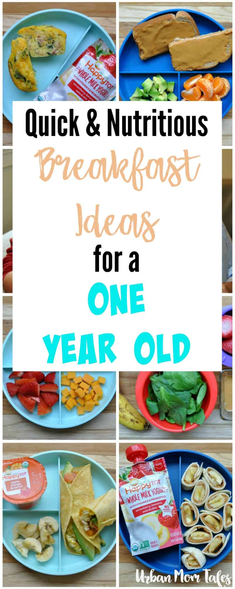 quick & nutritious breakfast ideas for a one year old · urban mom tales