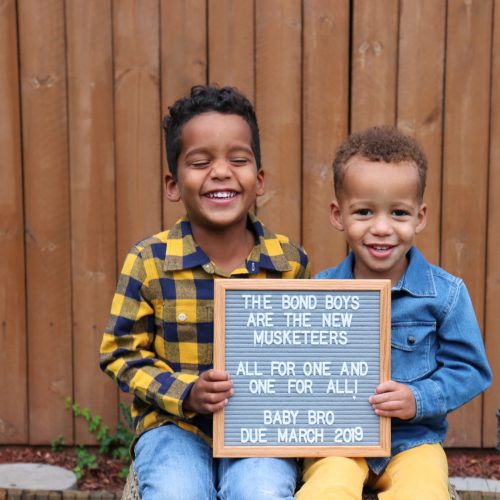third pregnancy, third boy announcement, gender disappointment, three brothers, pregnancy announcement