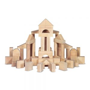wooden building blocks for toddler gifts