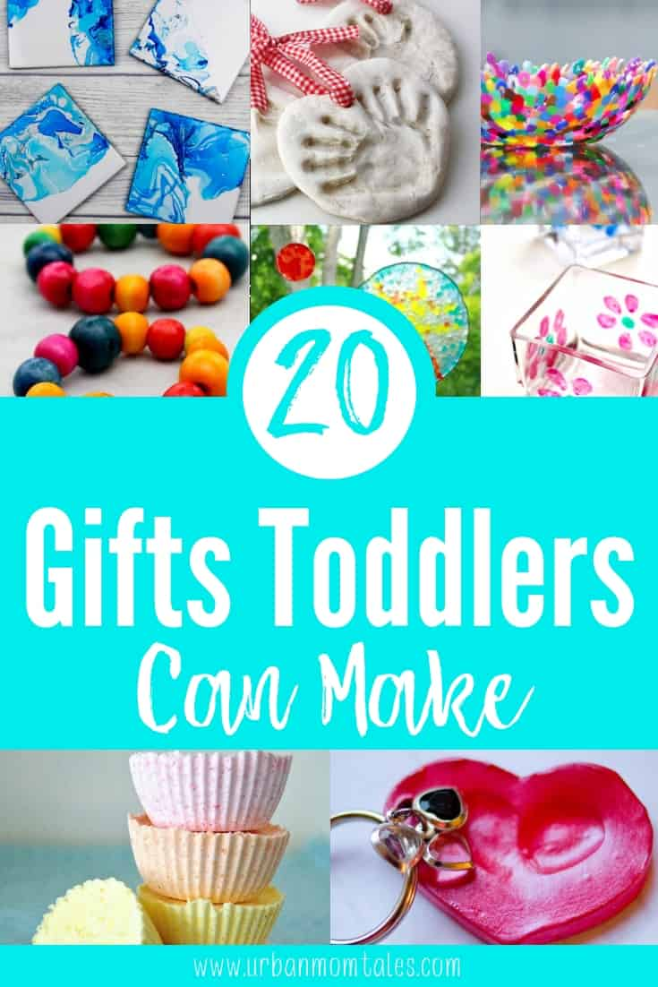 20 Simple Gifts Toddlers Can Make at Christmas
