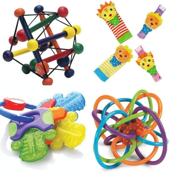 Hand Eye Coordination Toys for 3 Month Old Babies