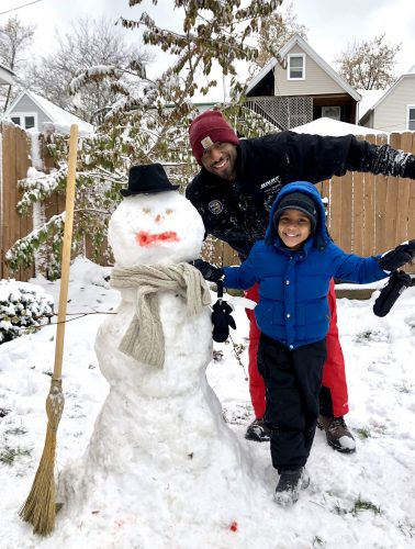 Christmas Winter Ideas Snowman