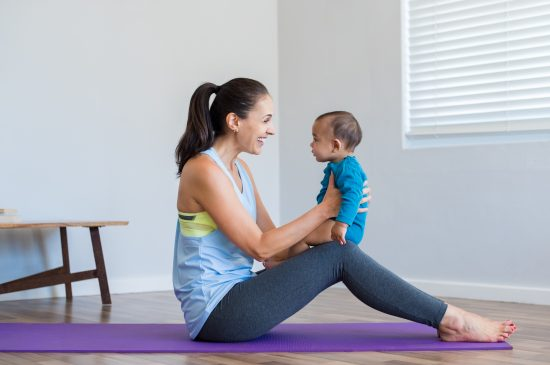 self care exercise for moms