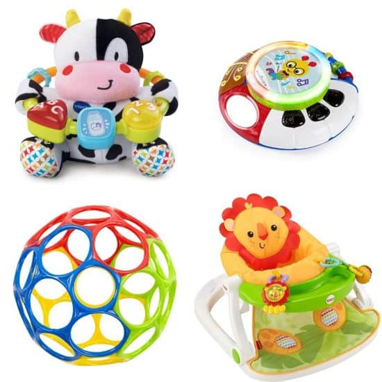 entertaining baby toys music development