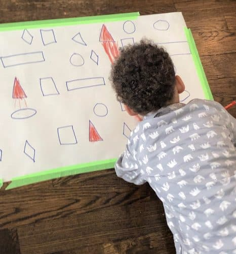 shape practice for preschoolers