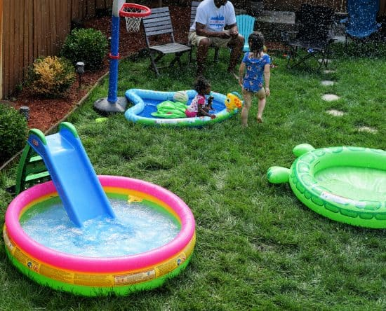 inflatable pools water party ideas