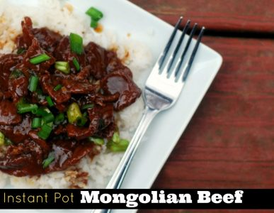 Instead of take out, make this perfect mongolian beef recipe in your instant pot.