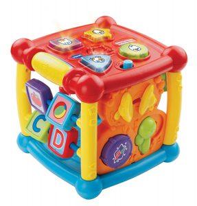 activity cube for 7 month old baby toy
