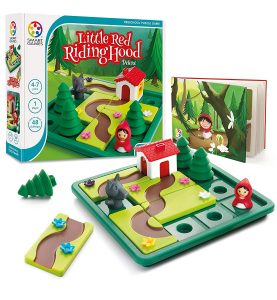 Little Red Riding Hood board game for preschooolers
