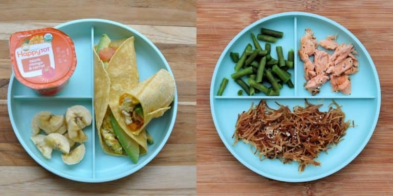 1 year old meal plan toddler menu