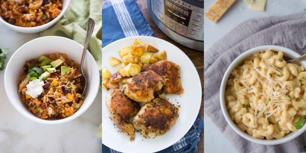 toddler friendly dinners for your instant pot, toddler approved meals