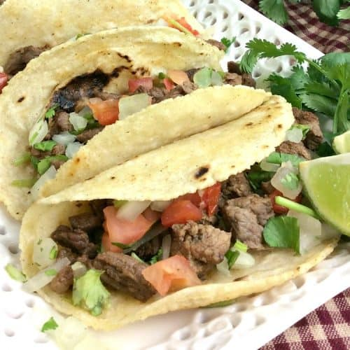 Instant Pot steak tacos are perfection.