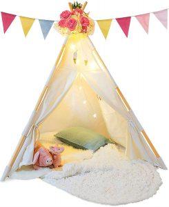 teepee tent gift for preschoolers